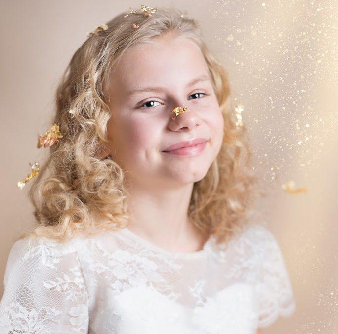 Essex Child Photographer, glitter shoots fun photos for girls