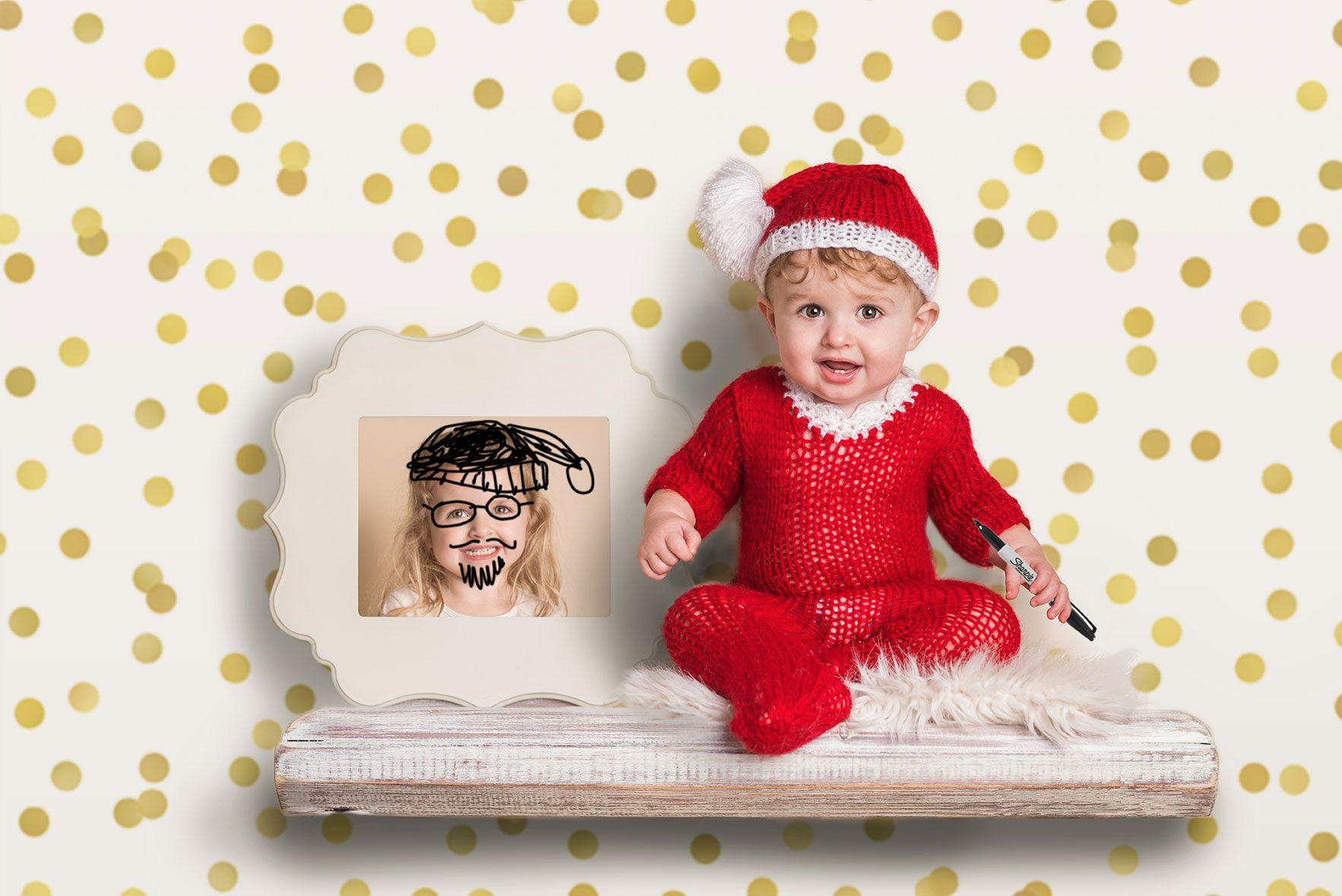 Essex baby photographer - Christmas mini session photoshoots.