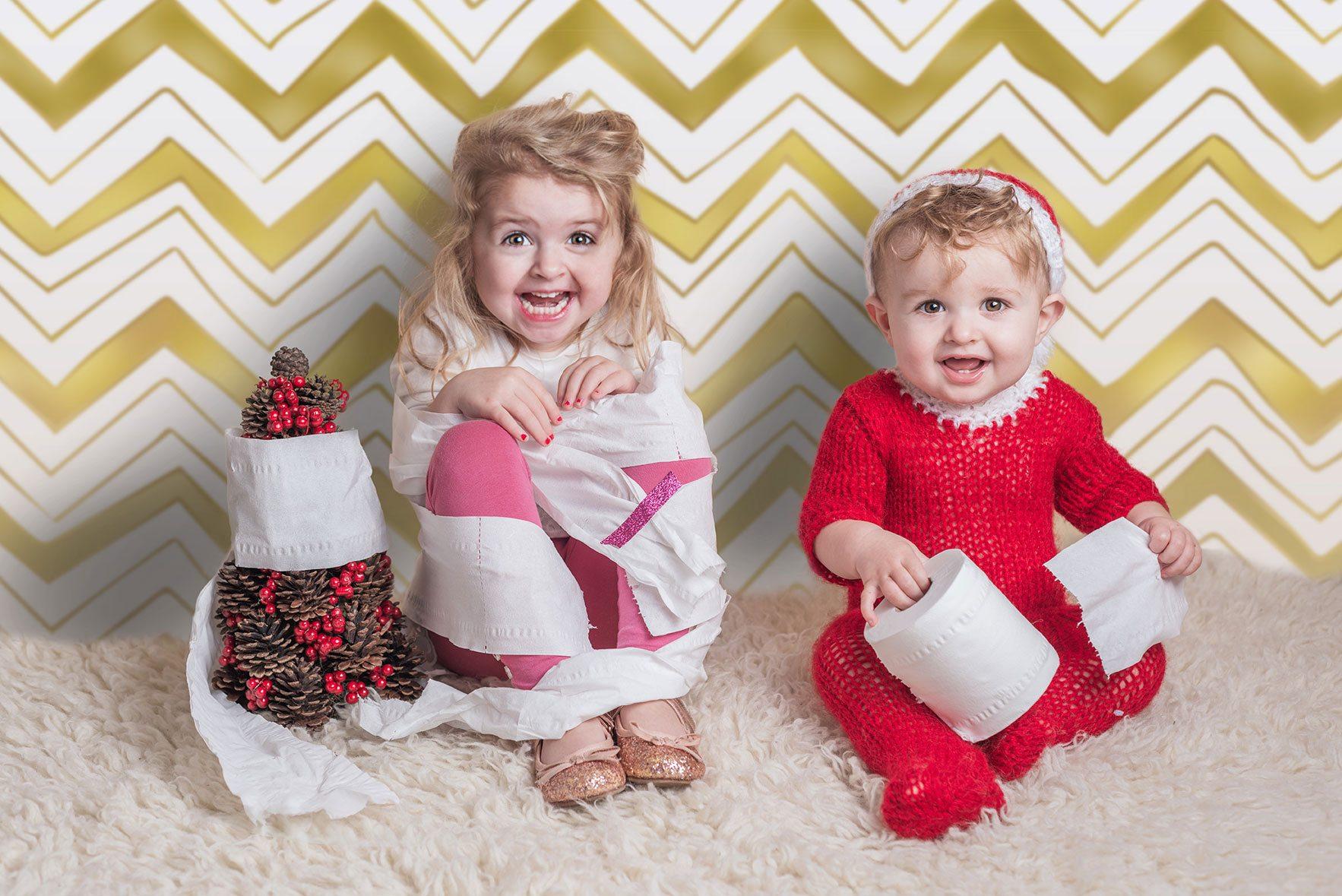 Fun child photoshoots - Christmas mini sessions - Essex child & baby Photographer