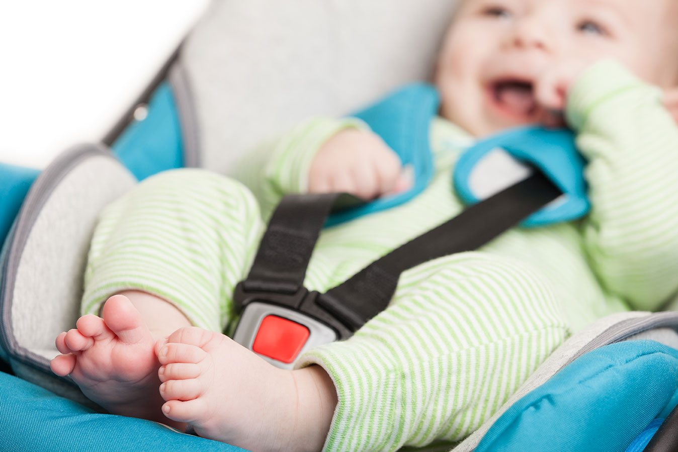 Car seat safety for new parents.