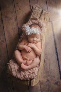 Baby girl newborn shoot Essex