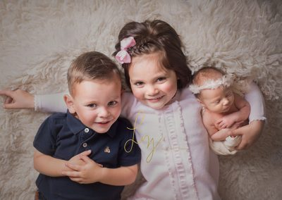 Halstead-Essex-newborn-girl-with-her-older-brother-and-sister---Essex-newborn-photographer