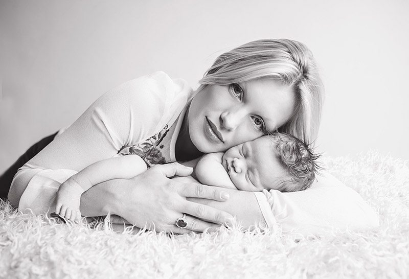 Halstead Mum & her new little boy - baby photographer in Essex