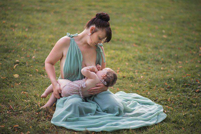Suffolk & Essex Newborn Photographer - Breastfeeding shoot Nowton Park