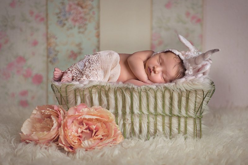 Unicorn Newborn Shoot - Sudbury Suffolk Newborn Photographer