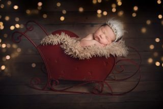 Stunning baby photoshoots for Christmas