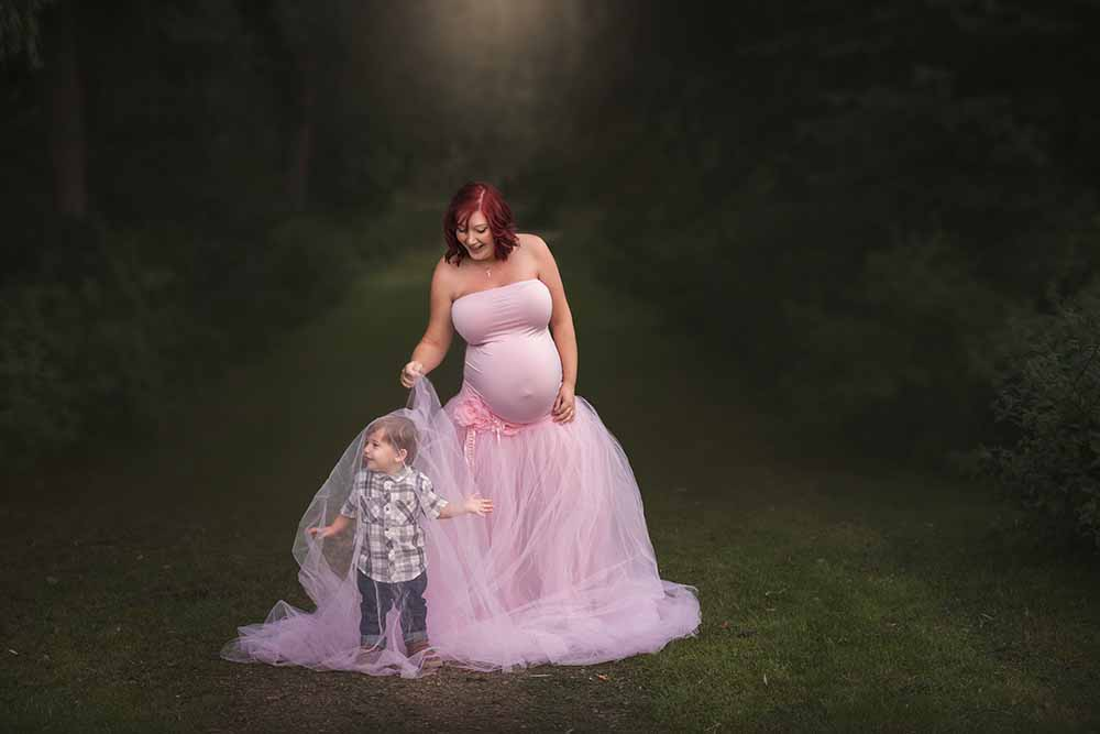 Bump photoshoot in Essex