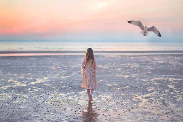 Beach photoshoots by Essex children's photographer
