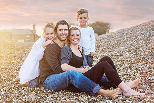 Essex child & family photographer beach shoots