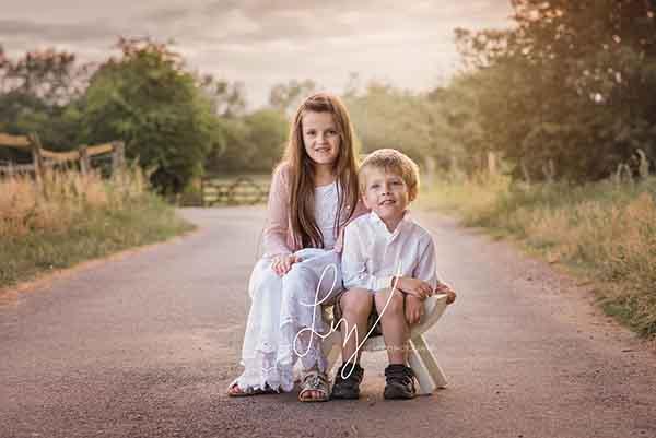 Beautiful child photography Romford Essex outdoor photoshoots