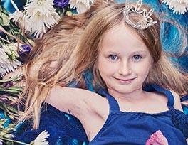 Sleeping Beauty photoshoot Essex child Photographer
