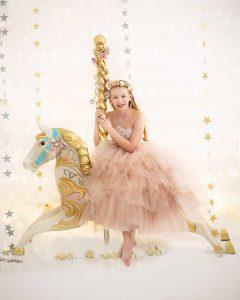 Carousel horse Hadleigh Suffolk child photos