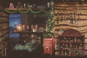 Colchester Essex minisession child photoshoot Santas workshop