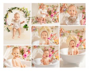 Milestone photo session Cake smash creating beautiful memories of your babies first year